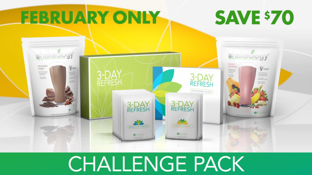 The 3-Day Refresh cleanse from Team BeachBody the company that has brought you Shakeology, P90X and Insanity