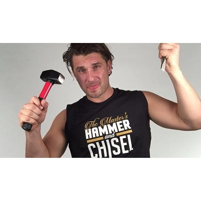 It's about to get real with my new studio setup! #hammerandchisel